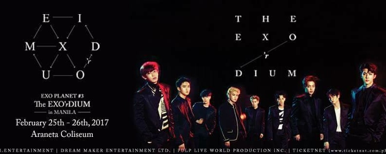 Exo Planet #3 – the Exo'rdium in Manila