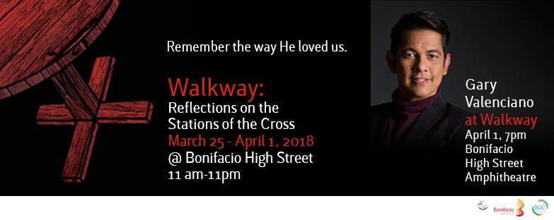 Gary Valenciano at Walkway