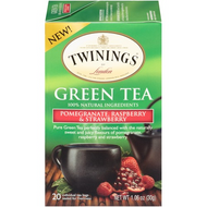 Pomegranate Raspberry & Strawberry Green Tea from Twinings
