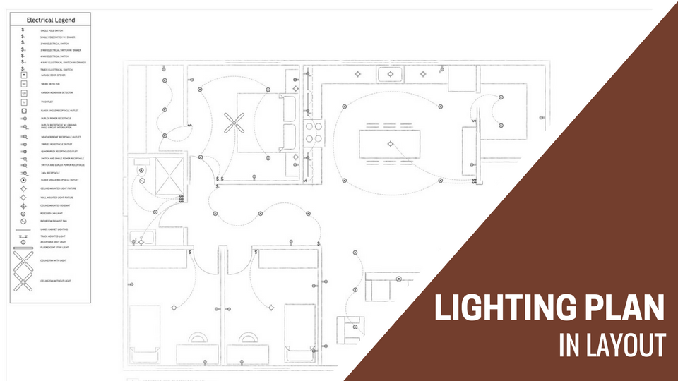 Lighting Plan Template And Instructions Sketchup For Interior