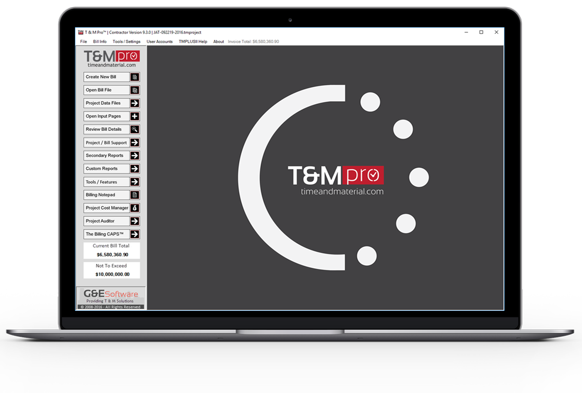 T&M Pro | Time and Material Billing Software