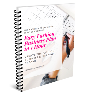 1 Easy Fashion Business Plan In 1 Hour Ebook Workbook Ebooks4f