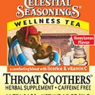 Throat Soothers Wellness Tea from Celestial Seasonings