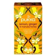 Lemon, Ginger & Manuka Honey from Pukka