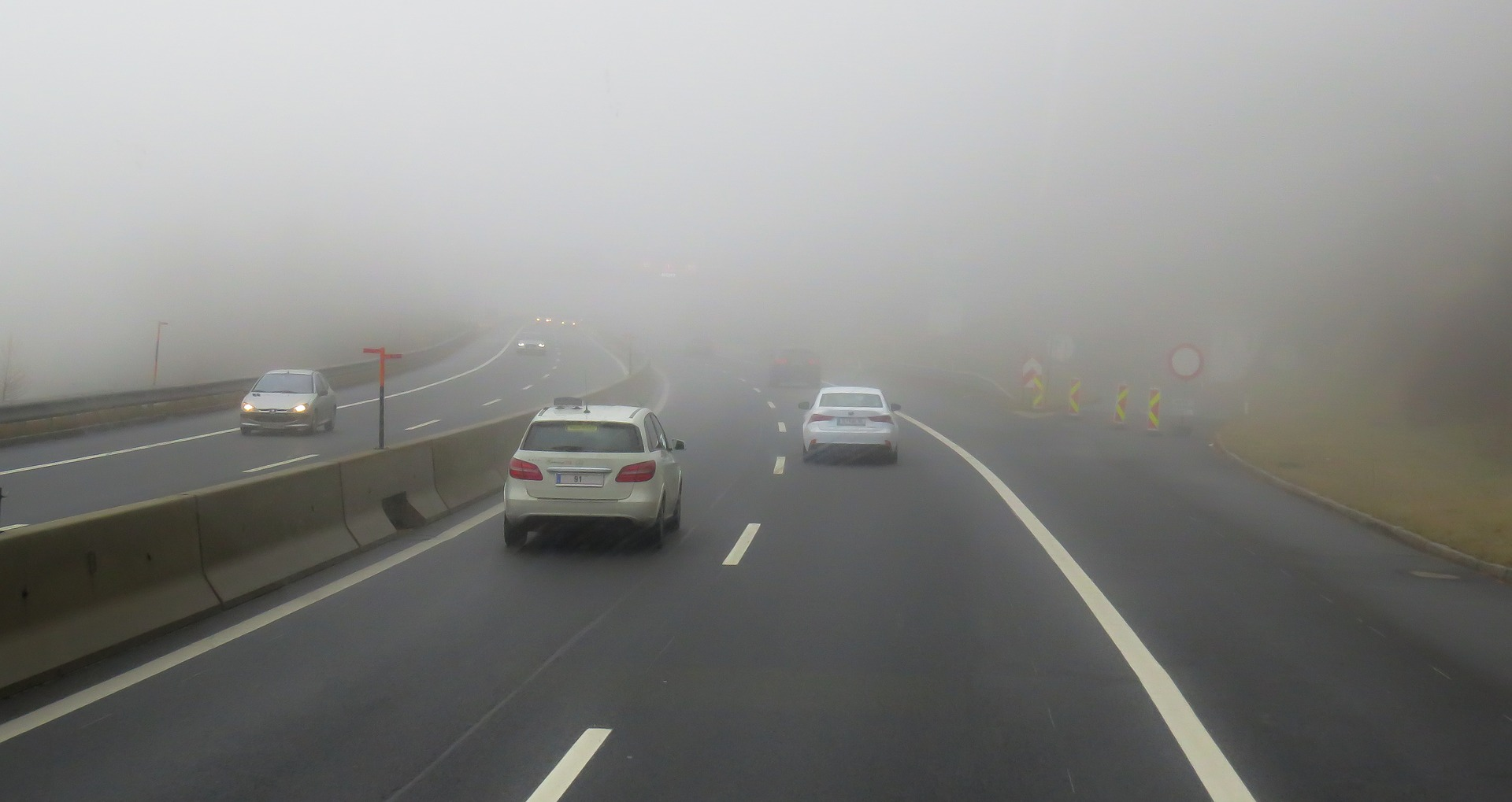 Foggy Roadway, MSI Blog Photo