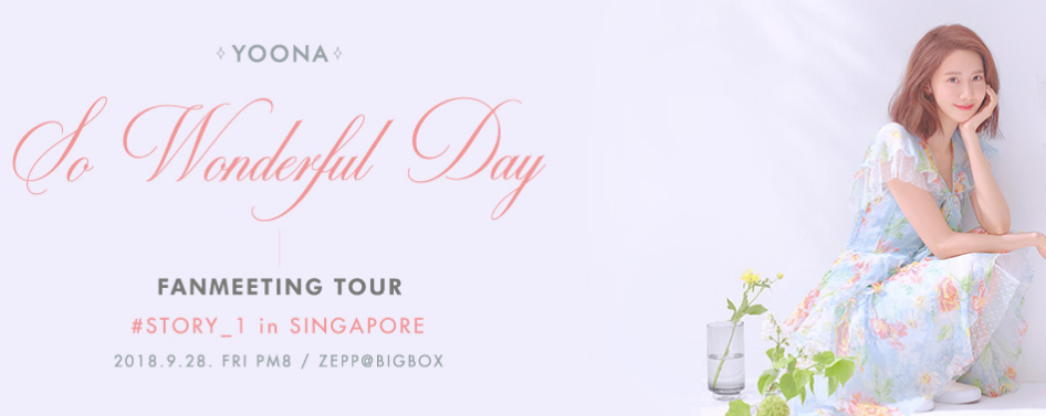 Yoona Fan Meeting Tour, So Wonderful Day #Story_1 in Singapore