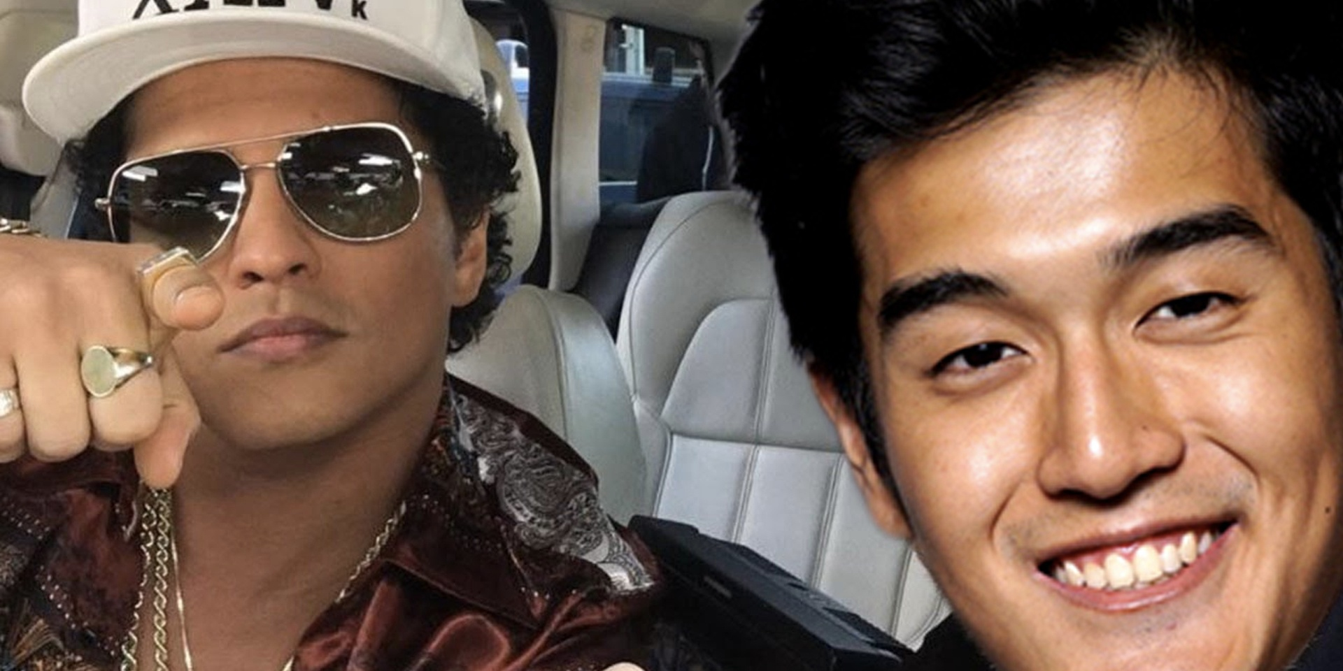 You could sing Bruno Mars songs in a Grab car with Nathan Hartono, Sam Rui, Tim De Cotta or more