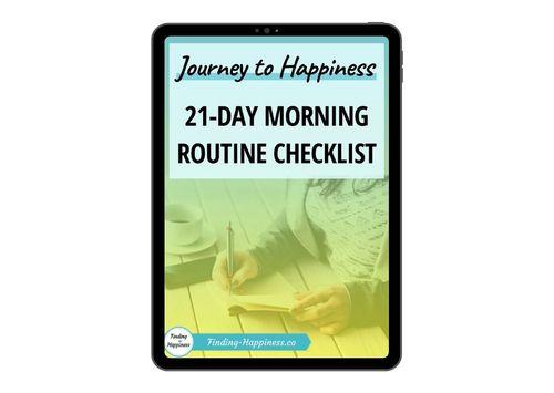 BONUS #4 - 21-Day Morning Routine Checklist