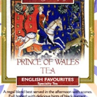 Prince of Whales English Favourites Black Tea Blends from The Metropolitan Tea Company
