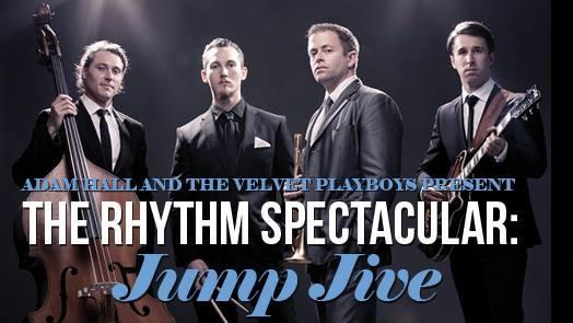 Adam Hall & The Velvet Playboys: JUMP JIVE!