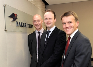 (L-R) Mark Evans, Baker Tilly, Charles Addison, Made in the Midlands, Stephen Newman, Baker Tilly