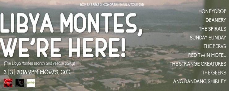 Libya Montes, We're Here!