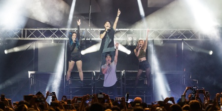 WATCH: Highlights from The Sam Willows dazzling pop spectacle at The Coliseum