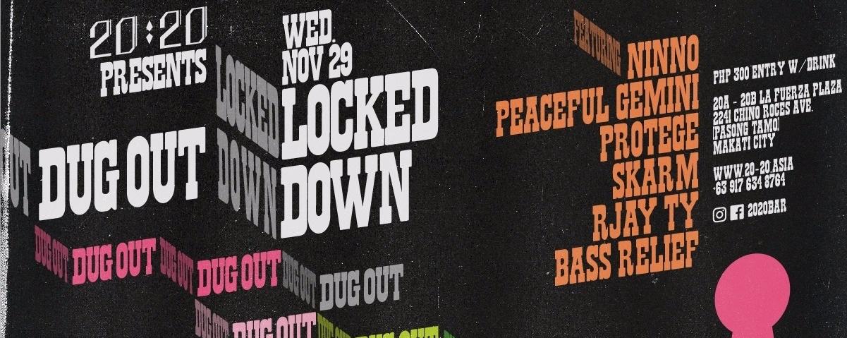 Dugout! x Locked Down