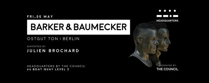 The Council presents Barker & Baumecker (Ostgut Ton)