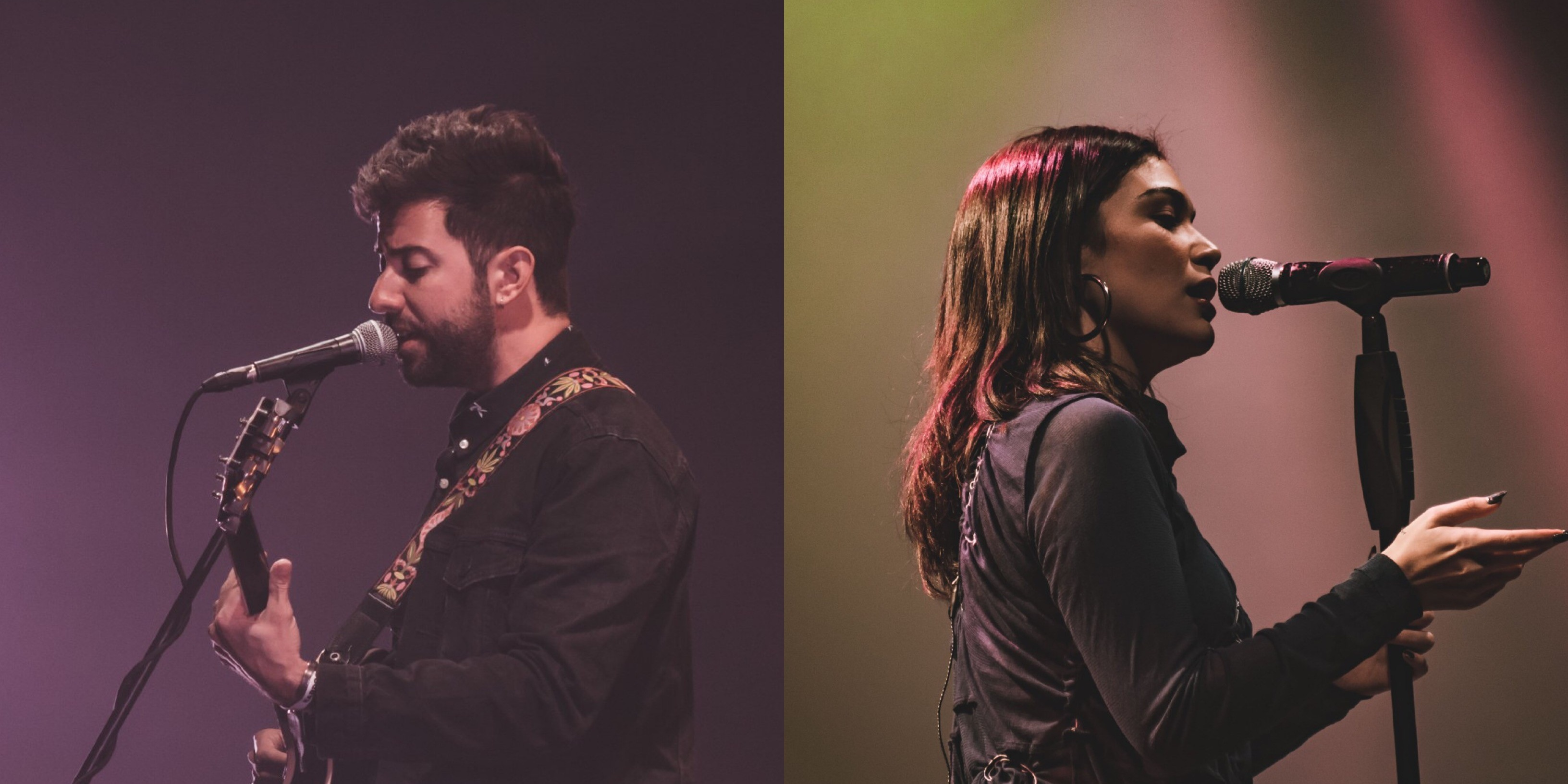 Jess Connelly and Bruno Major stun in Karpos Live Mix 3.2 performance – photo gallery