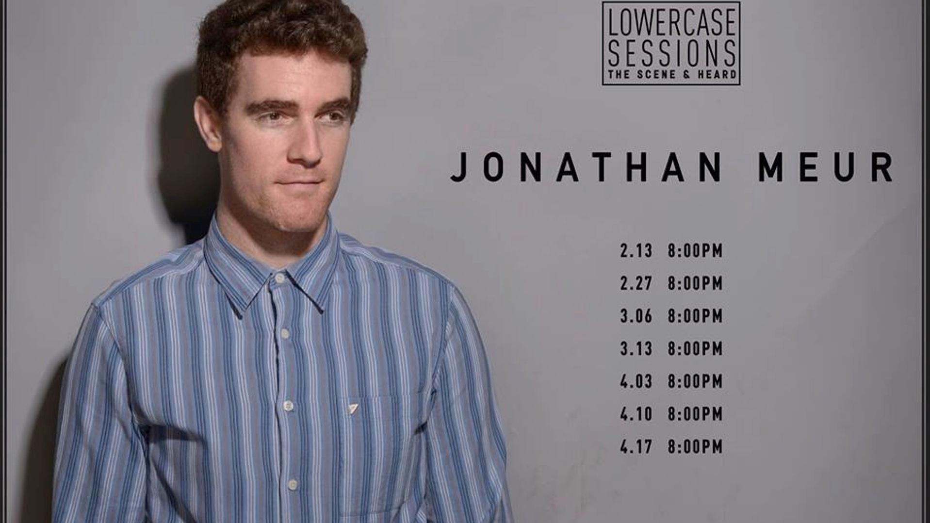 Lowercase Sessions: Jonathan Meur