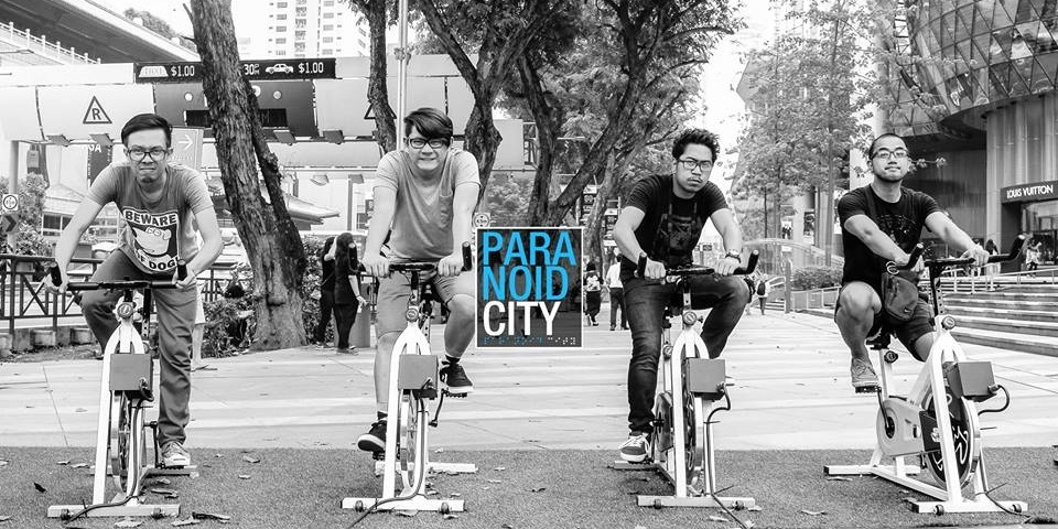 Paranoid City goes on mini regional tour