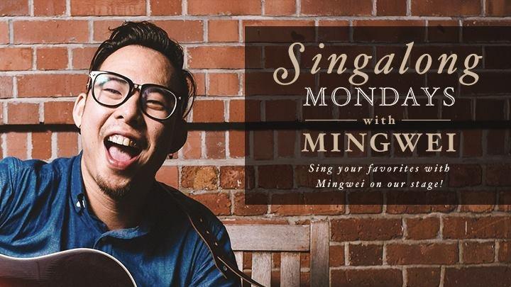 Singalong Mondays with MingWei