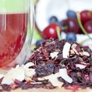 Organic Ruby Zing from The Rabbit Hole Organic Tea Bar