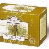 Vanilla Black Tea from Ahmad Tea