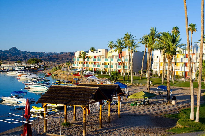 Hotels break lake spring havasu