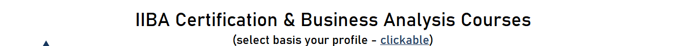 Required Experience and Expertise (select basis your profile - clickable)