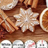 Christmas Cookie Shou Mei from 52teas