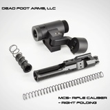 Dead Foot Arms DFA Modified Cycle System – RIFLE CALIBER – with Right Side Folding Stock Adaptor