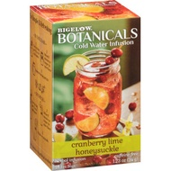 Cranberry Lime Honeysuckle Cold Water Infusion from Bigelow