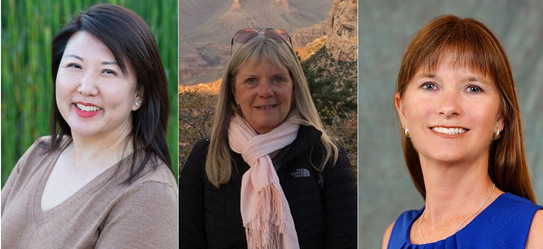 Tina Lee, Linda Lefrak, Mindy Morris