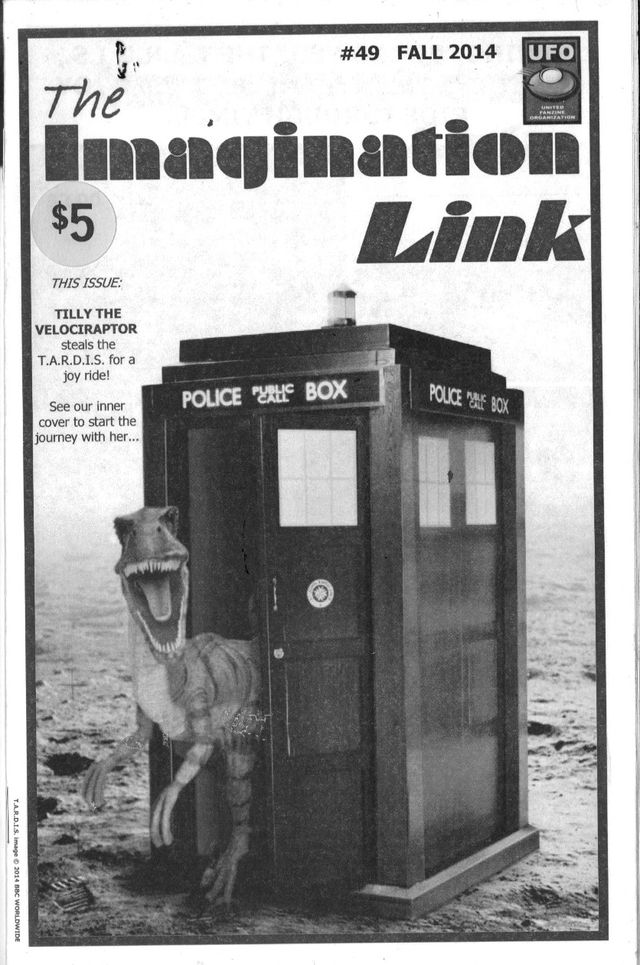 image: IMAGINATION LINK ish 49. GEORGE MINK FIRST ISSUE COLLECTORS ITEM! AMONG A PLETHORA OF STORIES ART AND POEMS BY MANY OTHER TALENTED CREATORS