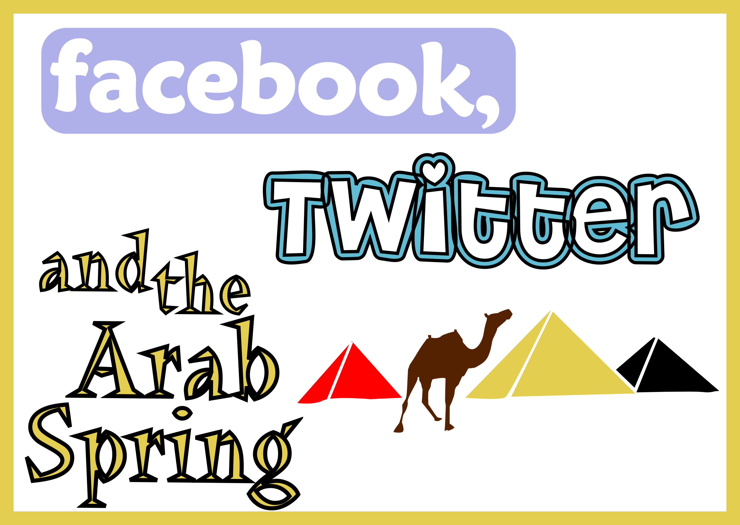 Facebook, Twitter & the Arab Spring