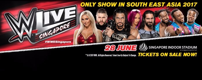 WWE Live Singapore