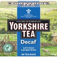 Yorkshire Tea Decaffeinated from Taylors of Harrogate