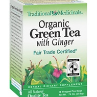 Organic Green Tea with Ginger from Traditional Medicinals