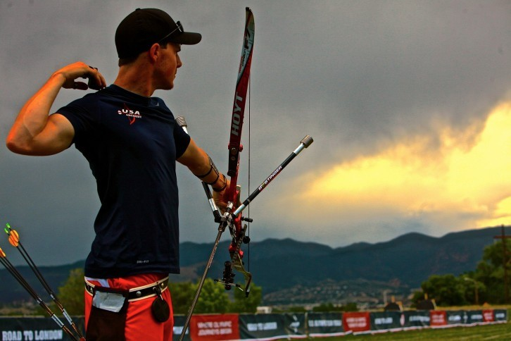 how to be an olympic archer
