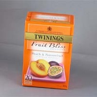 Peach and Passionfruit Tea from Twinings
