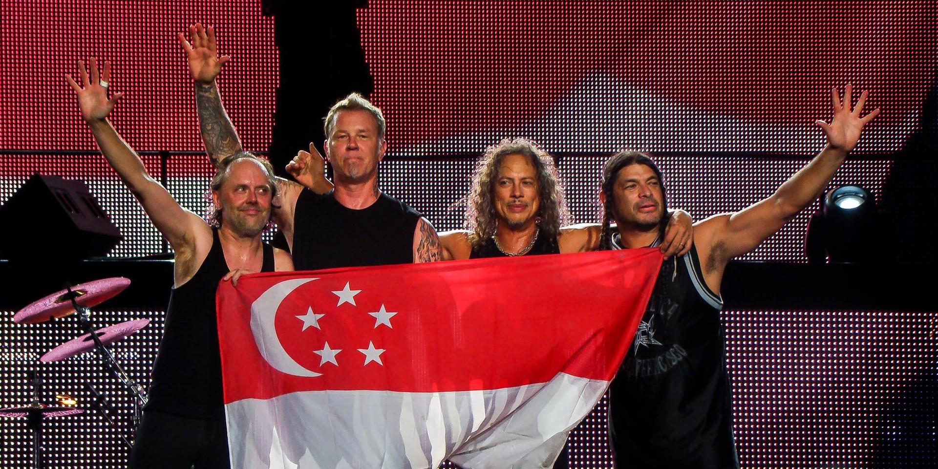 Ride The Lightning: Metallica Live In Singapore