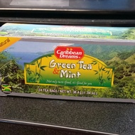 Green Tea & Mint from Caribbean Dreams