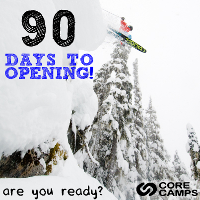 90 Days Unitl Opening