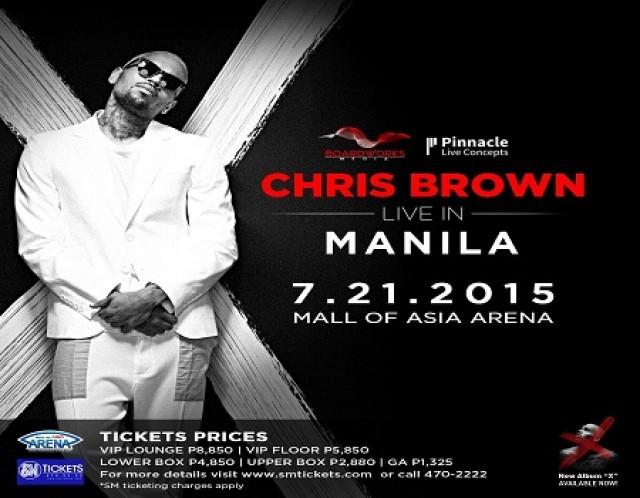 Chris Brown Live in Manila
