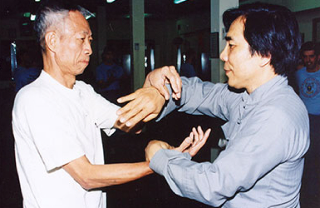 Sigung Chu and Sifu Fung