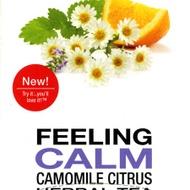 Feeling Calm - Camomile Citrus Herbal Tea from President's Choice