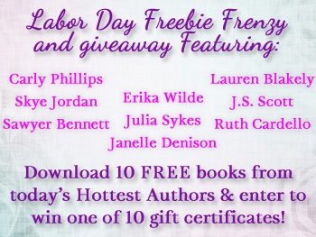Labor Day Freebie Frenzy! | Carly Phillips