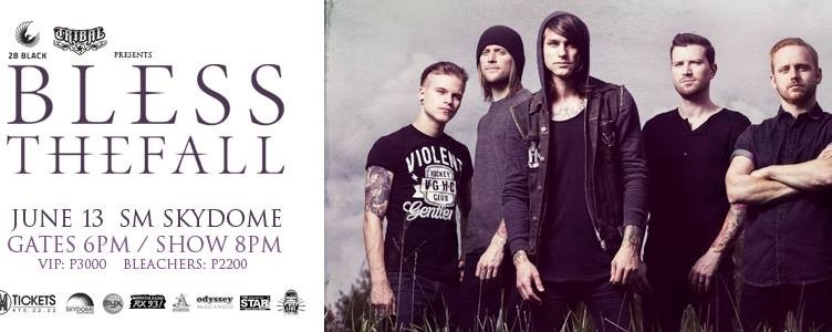 BLESSTHEFALL Live At SKYDOME