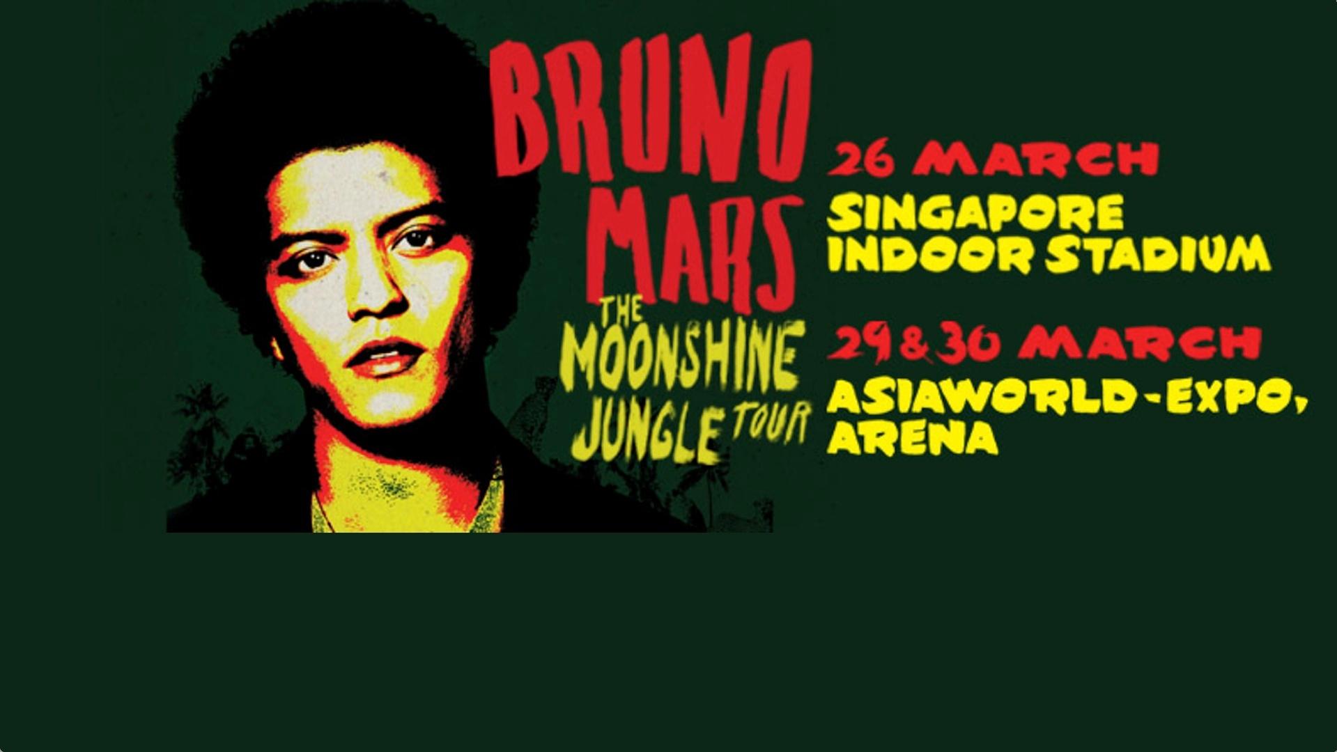 Bruno Mars Live In Singapore