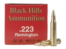 Black Hills Ammunition Black Hills 52GR HP 50/Box