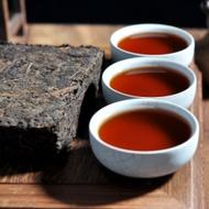 """2000 CNNP """"Yi Wu Chen Xiang"""" Ripe Pu-erh Tea Brick from Yunnan Sourcing"""