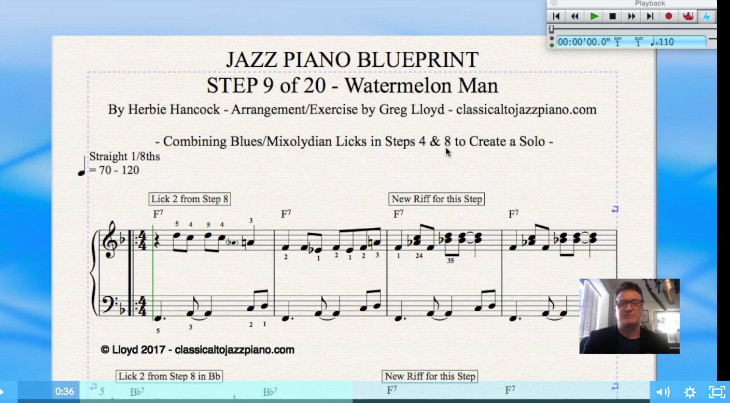 The jazz piano blueprint classical to jazz piano everything in the videos will be provided to you as downloadable sheet music and you will learn how to play each standard for solo piano and also how to malvernweather Image collections